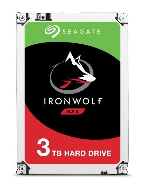 3 TB Seagate IronWolf ST3000VN007 SATA3 3,5 Zoll 5900 U/min 8719706002899