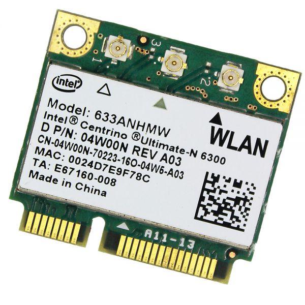 Dell WLAN-Modul | Intel Centrino Ultimate-N 6300 | 633ANHMW 633ANHMW
