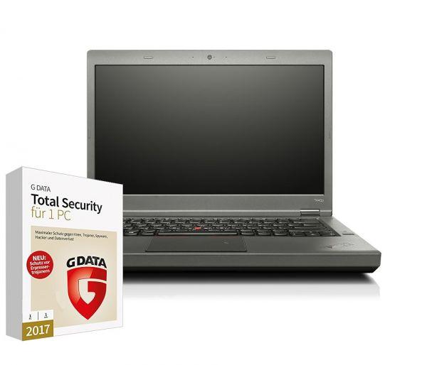 T440p | 4300M 4GB 500GB | HD+ | DW WC BT FP bel. Secu Win10P