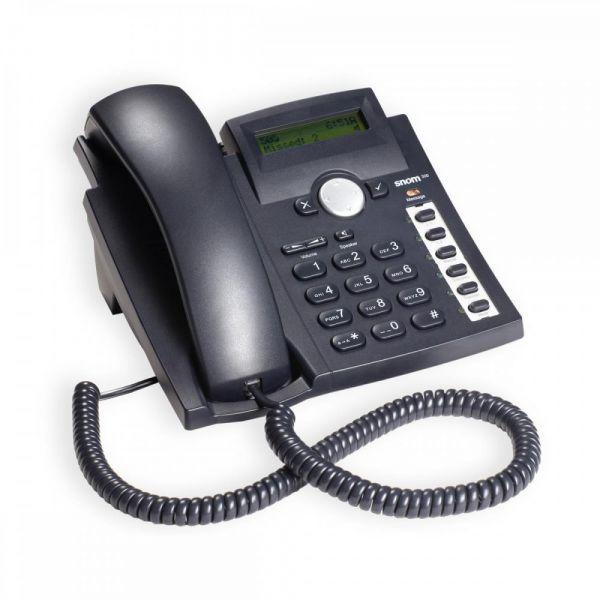 SNOM 300 VoIP SIP Telefon mit Netzteil SNOM300