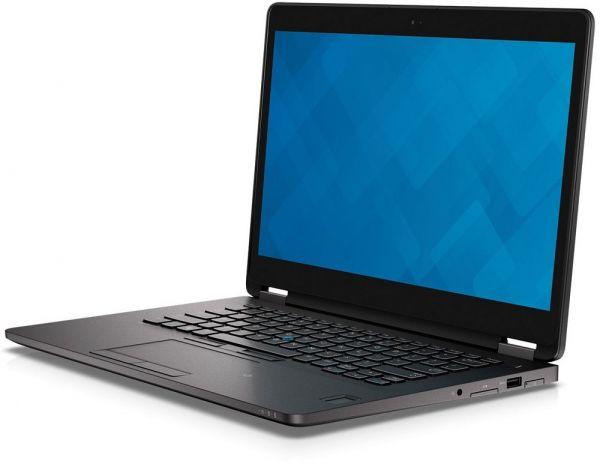 E7470   6300U 8GB 256SSD   QHD Touch WC BT FP Aufkl. W10P B+