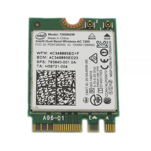 HP WLAN-Modul | Dual Band Wireless-AC 7265 | 7265NGW | BT 7265NGW