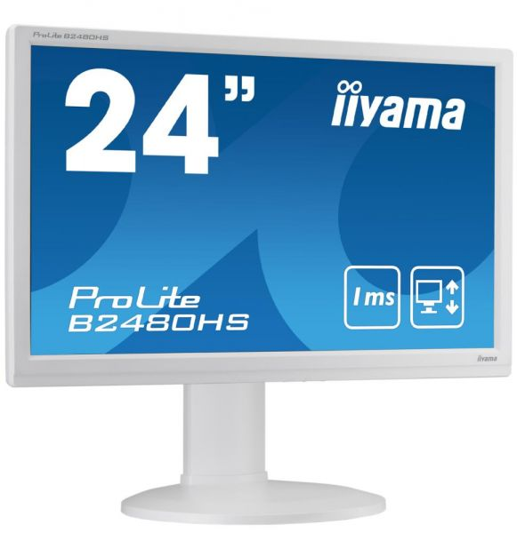 Iiyama ProLite B2480HS | 23,6 Zoll 16:9 | FHD LED B2480HS-W2