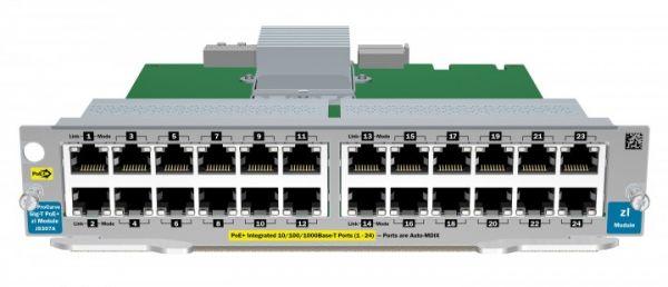 HP ProCurve 24-Port 10/100/1000 PoE zl Modul | J8702A J8702A