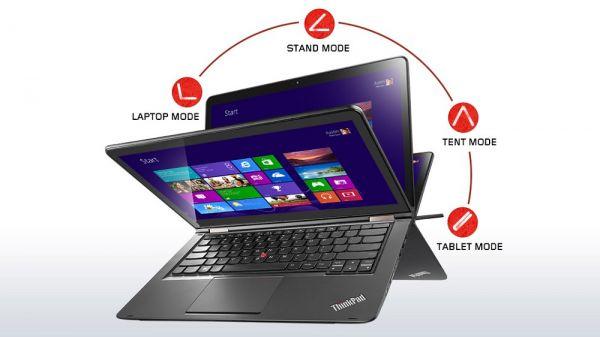 YOGA 460   6200U 4GB 128SSD   FHD Touch WC BT bel Sty W10P