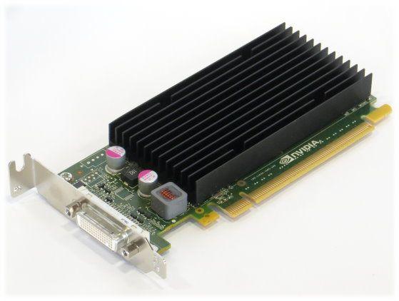NVIDIA Quadro NVS 300 Grafikkarte | Halbe Höhe PCIe x16 VCNVS300