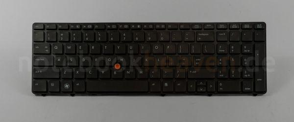 HP EliteBook Tastatur   INT Layout   690647-B31   beleuchtet 690647-B31