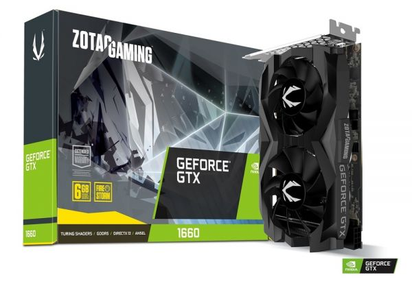 ZOTAC GAMING GeForce GTX 1660 6GB GDDR5 ZT-T16600F-10L