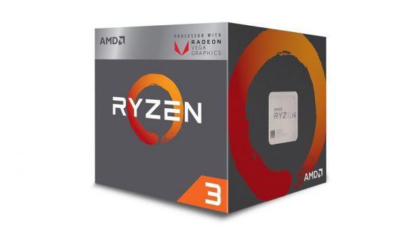 AMD Ryzen™ 3 2200G mit Radeon™ Vega 8 Grafikkarte YD2200C6M4MFB