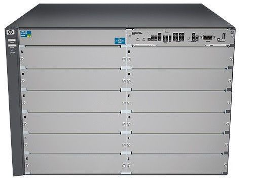 HP ProCurve Switch 5412zl | Chassis | 12-Slot | J8698A J8698A