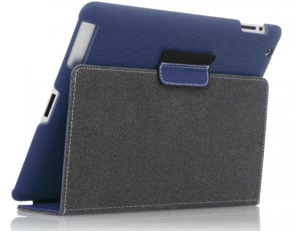 Targus Premium Click In Case iPad3 iPad4, Blue | Schutzhülle THD00605EU