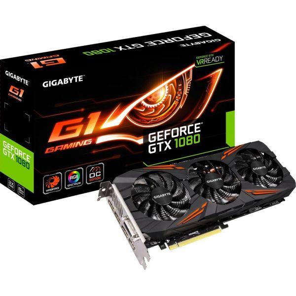 Gigabyte GeForce GTX 1080 G1 Gaming 8G GV-N1080G1 GAMING-8GD