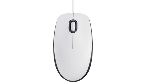 Fujitsu M-U0026 | Optische USB Maus | Weiß M-U0026