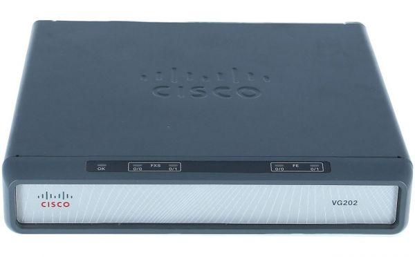 Cisco VG202 Voice Gateway VoIP Analog Router VG202