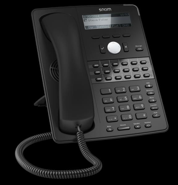 SNOM 760 VoIP SIP Telefon mit Netzteil mit Fuß SNOM 760 R3C