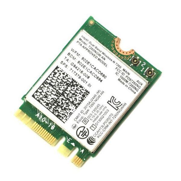 HP WLAN-Modul | Intel Dual Band Wireless-N 7260 7260NGWAN Bl 7260NGWAN