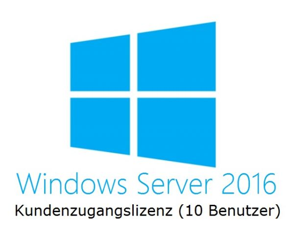 HPE Microsoft Windows Server 2016 | User CALs | 10 871179-B21