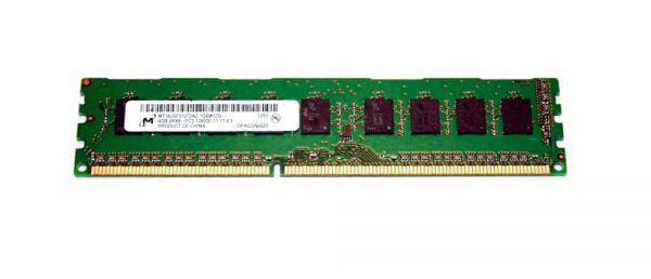 Micron 4GB DDR3 Arbeitsspeicher 1600 MHz ECC MT18JSF51272AZ-1G6M1ZG