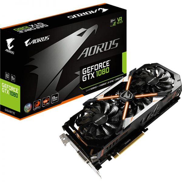 Gigabyte GeForce GTX 1080 Aorus 8 GB GV-N1080AORUS-8GD