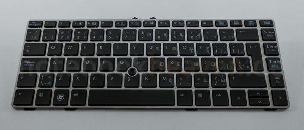 HP EliteBook Tastatur | UK \ FR Layout | 683835-DB1 683835-DB1