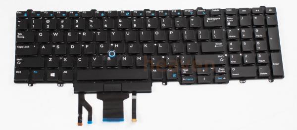 Dell E5570 Tastatur | US Layout | 0383D7 | beleuchtet 0383D7