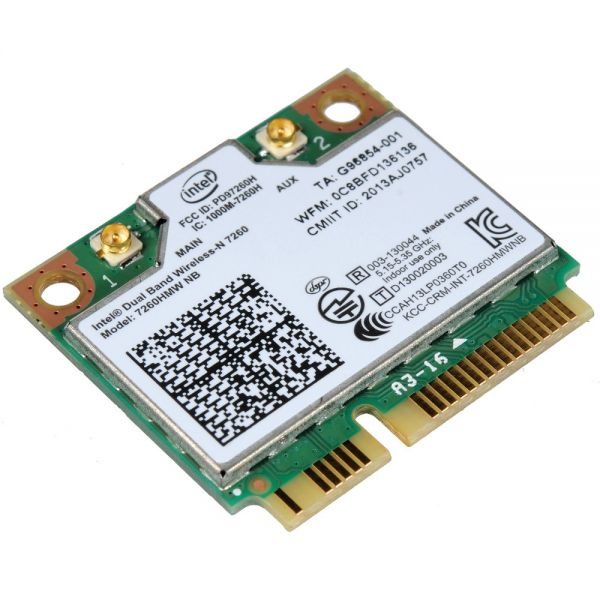 HP WLAN-Modul | Dual Band Wireless-N 7260 | 7260HMWAN | BT 7260HMWAN