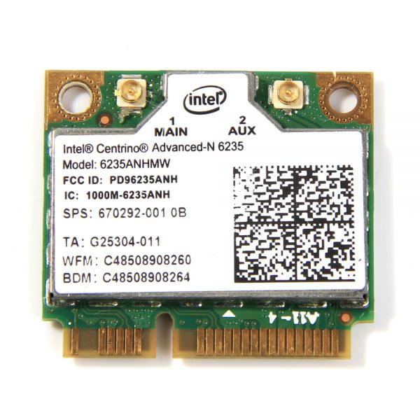 Intel WLAN-Modul | Intel Centrino Advanced-N 6235 | 633ANHMW 633ANHMW