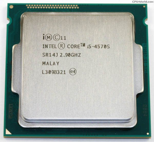 Intel Core i5-4570S SR0MU; SR0MT