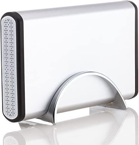 2 TB externe 3,5 Zoll Festplatte | USB 2.0 | Neues Gehäuse