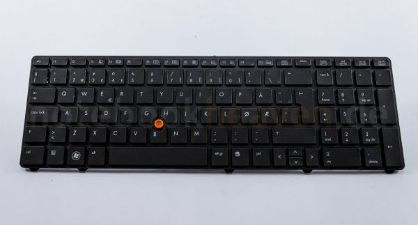 HP EliteBook Tastatur | NOR Layout | 688738-091 | bel. 688738-091 684393-091