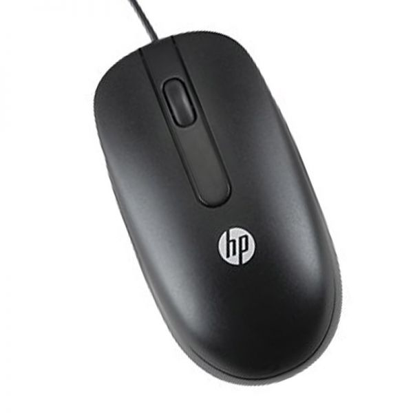 HP 672652-001 / 674316-001 Optische USB Maus | Schwarz 6741316-001