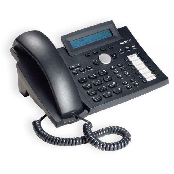 SNOM 320 VoIP SIP Telefon mit Netzteil SNOM 320 1858