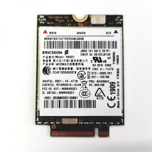 Lenovo N5321 | HSPA+ UMTS | Mobile Breitbandmodul 04W3786 04W3823